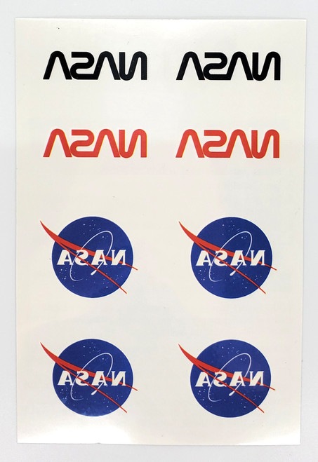 NASA Logo Temporary Tattoo Sheet
