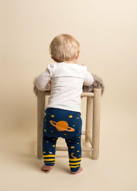 Planet Doodle Cotton Leggings by Doodle Pants