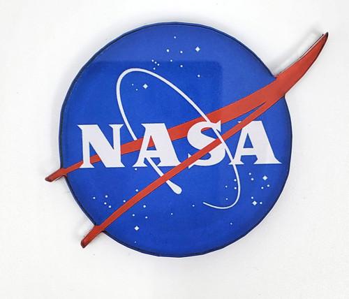 NASA Meatball Logo Acryllic Magnet