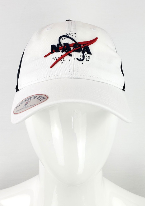 NASA Dual Logo Stretch Fit Hat