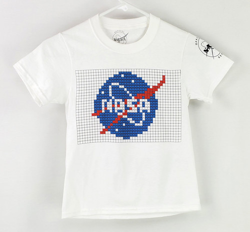 NASA Meatball Logo - Building Block Youth Tee Shirt