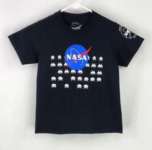 NASA Meatball Logo - Alien Invaders Youth Tee Shirt