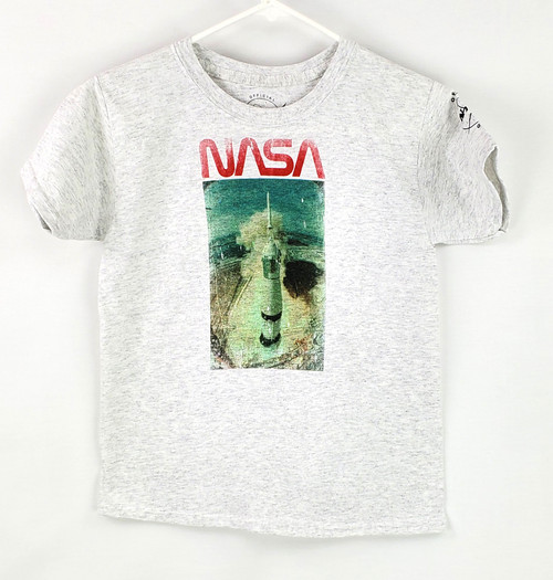 NASA Worm Logo - Vintage Take Off Youth Tee Shirt