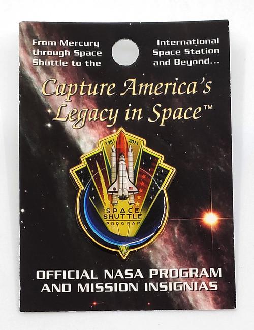 NASA Shuttle Program 30 Year 1981-2011 Commemorative Pin