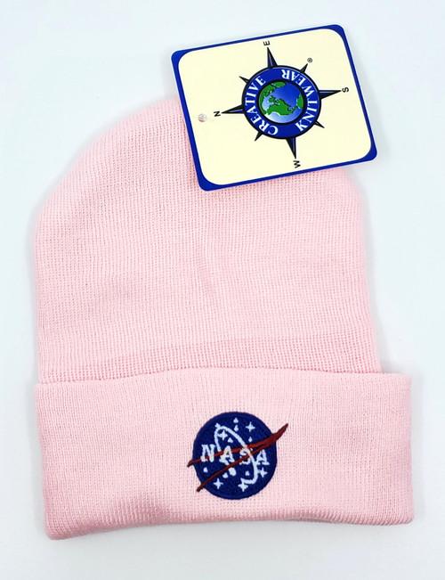 NASA Meatball Logo - Baby Beanie