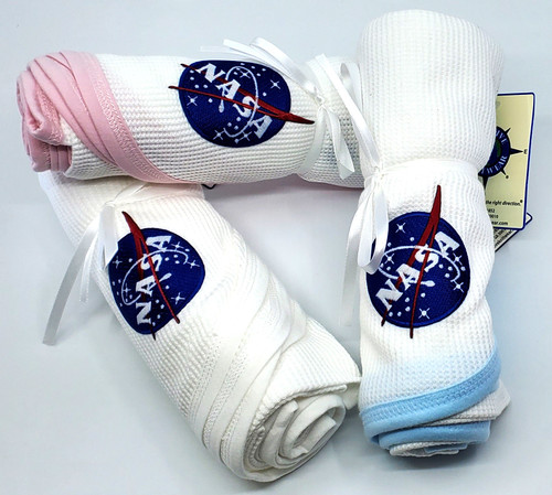 NASA Meatball Logo - Thermal Baby Blanket