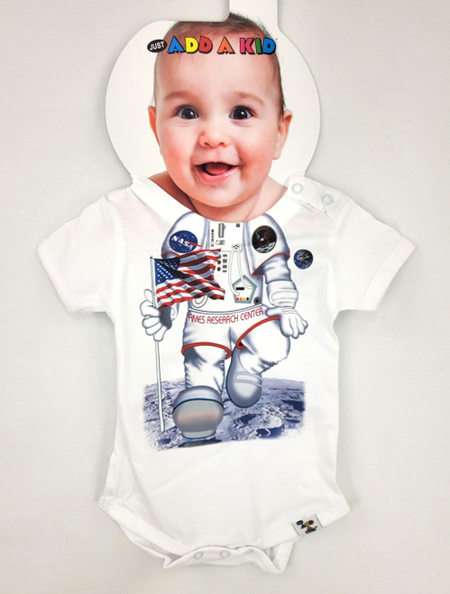 Ames Research Center - Space Themed Baby Onesie - By Add-A-Kid