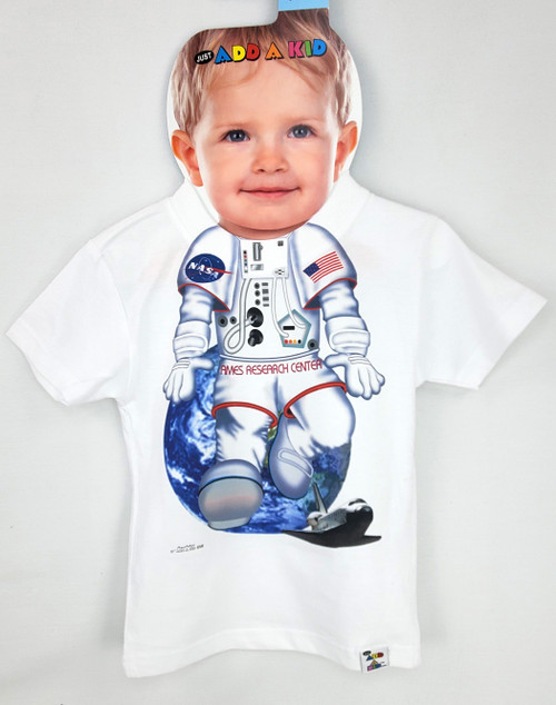 Ames Research Center - Space Themed Toddler Tee - By Add - A - Kid