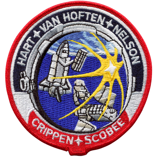 Space Shuttle STS-41C Mission Patch