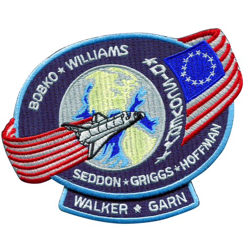 Space Shuttle STS-51D Mission Patch