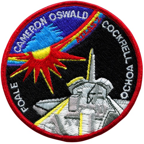 Space Shuttle STS-56 Mission Patch