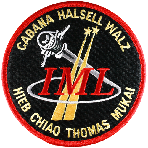 Space Shuttle STS-65 Mission Patch