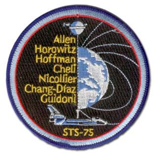 Space Shuttle STS-75 Mission Patch
