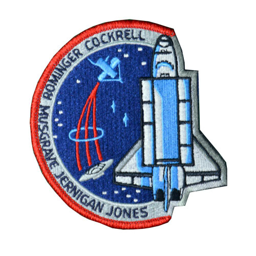 Space Shuttle STS-80 Mission Patch