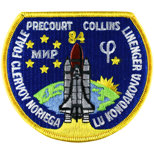 Space Shuttle STS-84 Mission Patch