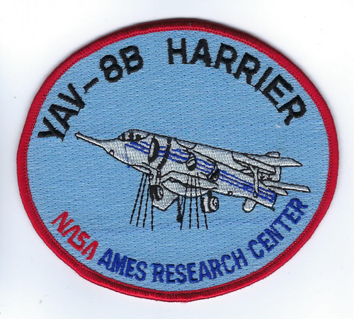 Ames Harrier Patch
