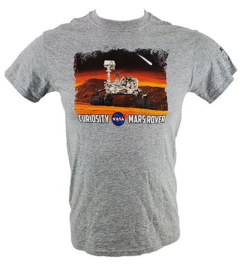 NASA Meatball Logo - Curiosity Mars Rover Adult Tee Shirt