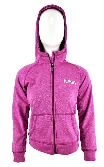 NASA Logo - Ladies Competition Full Zip Hoodie