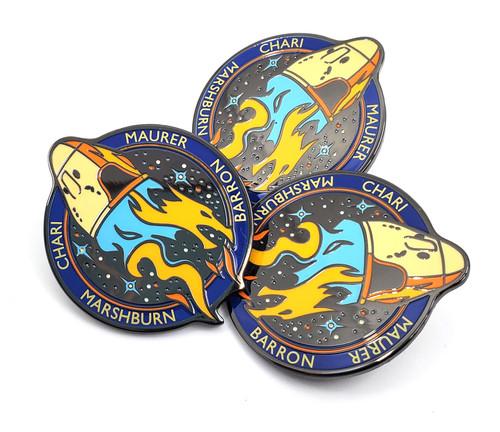 Crew 3 Mission Lapel Pin