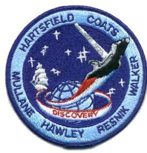 Space Shuttle STS-41D Mission Patch