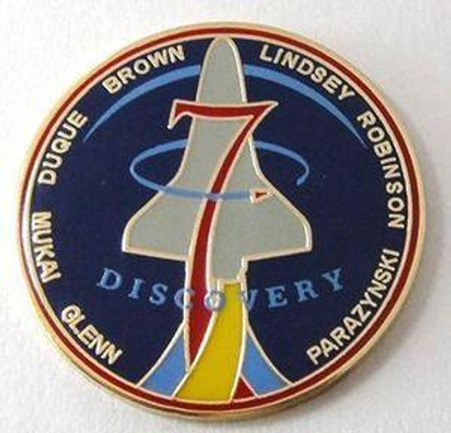 Space Shuttle STS-95 Mission Pin