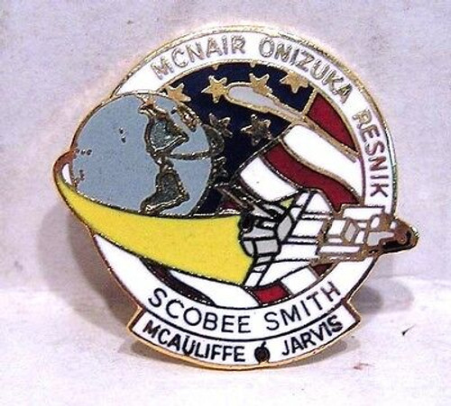 Space Shuttle STS-51L Mission Pin