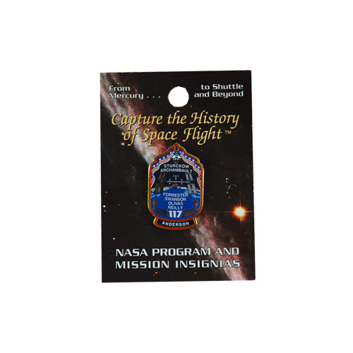 Space Shuttle STS-117 Mission Pin