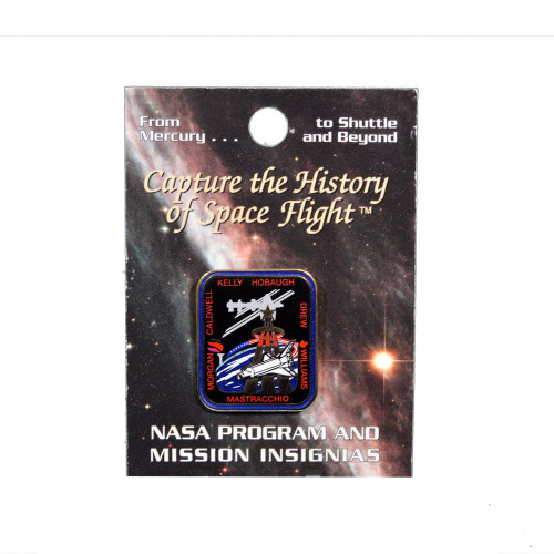 Space Shuttle STS-118 Mission Pin