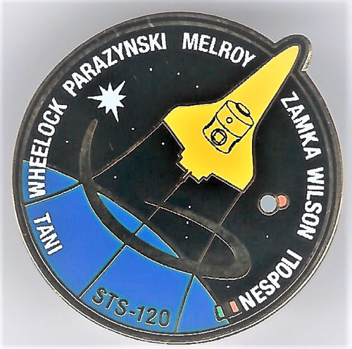 Space Shuttle STS-120 Mission Pin
