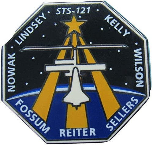 Space Shuttle STS-121 Mission Pin