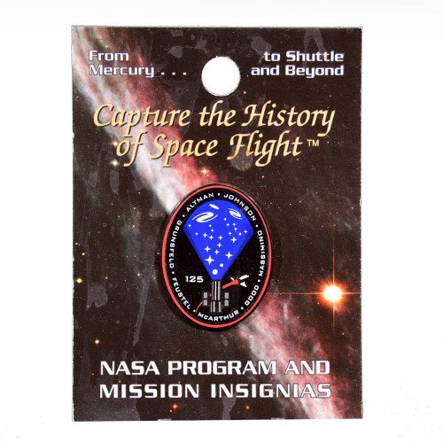 Space Shuttle STS-125 Mission Pin