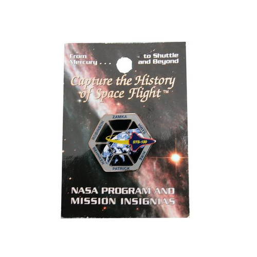 Space Shuttle STS-130 Mission Pin