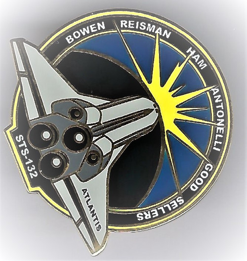 Space Shuttle STS-132 Mission Pin