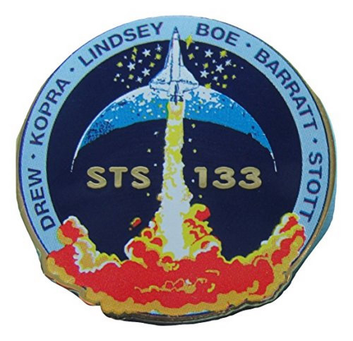 Space Shuttle STS-133 Mission Pin