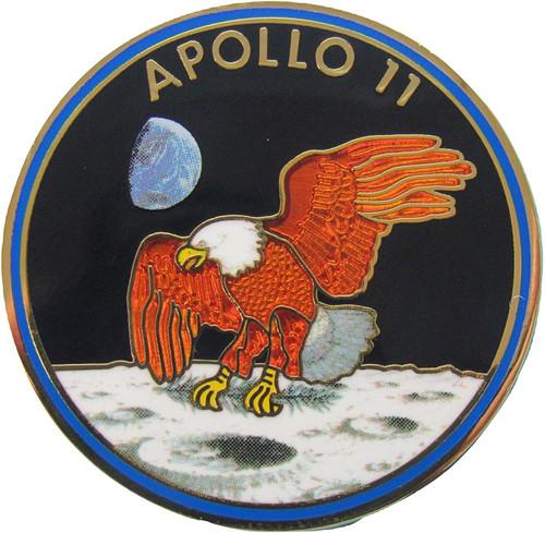 Mission Pin - Apollo 11