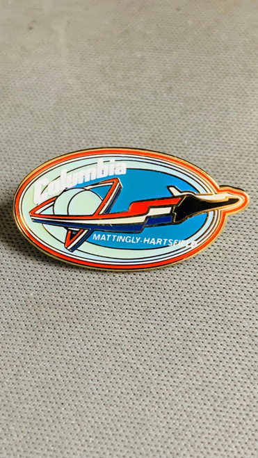 Space Shuttle Columbia  STS-4 Mission Pin