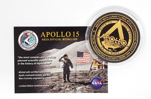 Apollo 15 Falcon Medallion