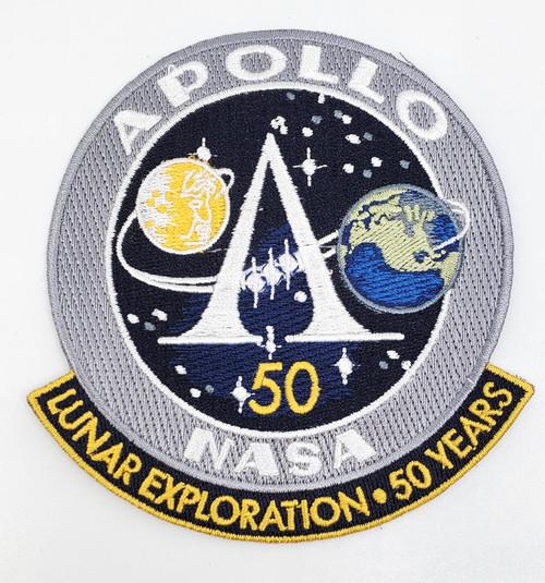 Apollo Program 50th Anniversary Patch
