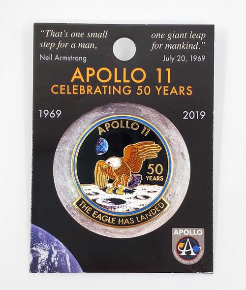 NASA Apollo 11 50th Anniversary Pin