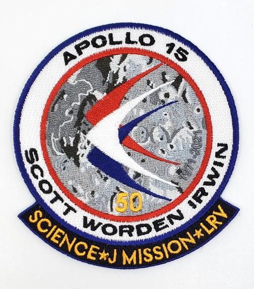 Apollo 15 50th Anniversary Patch