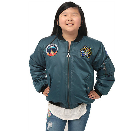 Space Shuttle  Patch - Youth Jacket