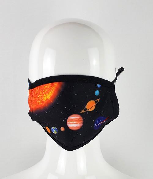 NASA Meatball Logo -Solar System  Mask