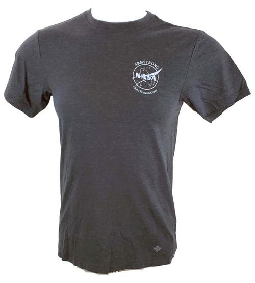 NASA Meatball Logo - Armstrong SR-71 Adult T-Shirt Version B