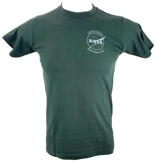 NASA Meatball Logo - Armstrong SR-71 Adult T-Shirt Version C