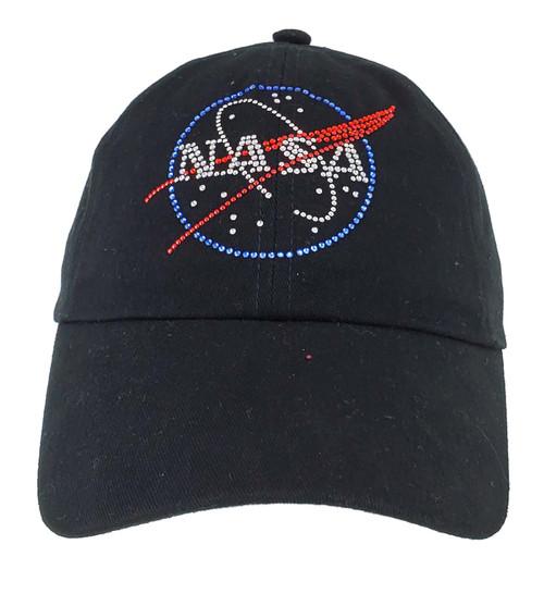 NASA Meatball Logo -  Embellished Rhinestone Hat Youth