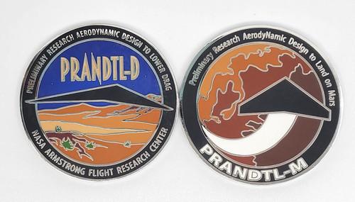NASA Armstrong PRANDTL Medallion