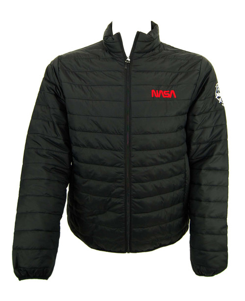 NASA Worm Logo - Ultra Lightweight Helio Puffer Jacket