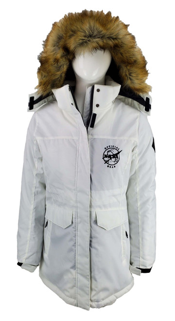 Official NASA Gear Logo - Providence Insulated Parka with Faux Fur