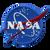NASA Meatball Logo 4 Inch Patch