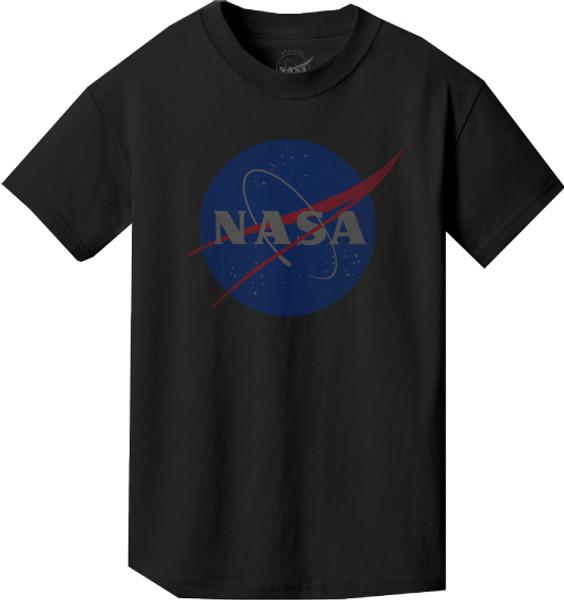 Faded NASA Meatball Logo - Youth T-Shirt